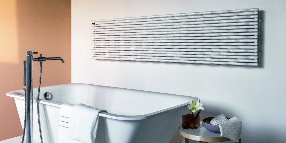 radiateur dans la salle de bain